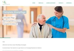 Template Altenpflege Preview