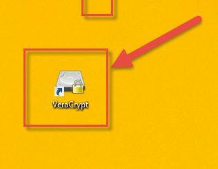 Veracrypt'i baslat