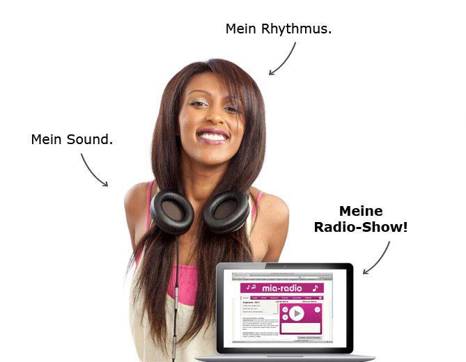Mein Sound. Mein Rhytmus. Meine Radio-Show. Meine eigene kostenlose Homepage!