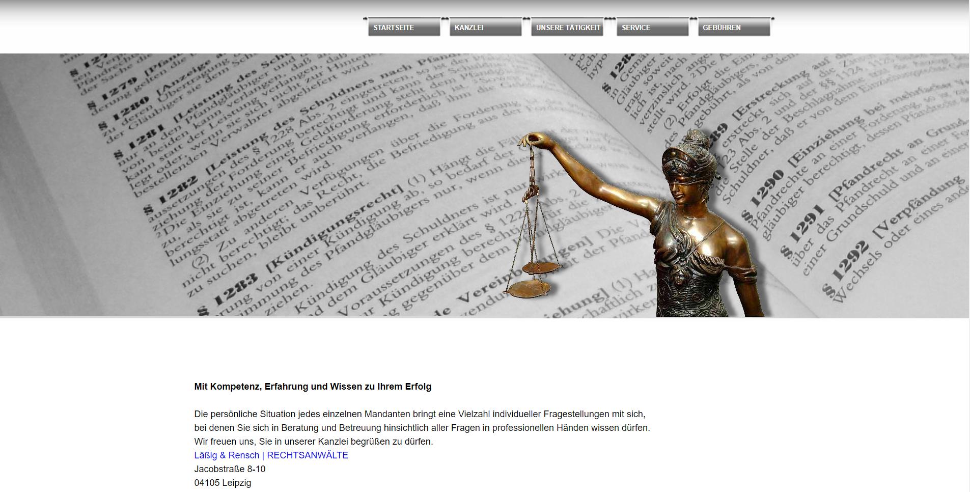 Rechtsanwalt Startseite