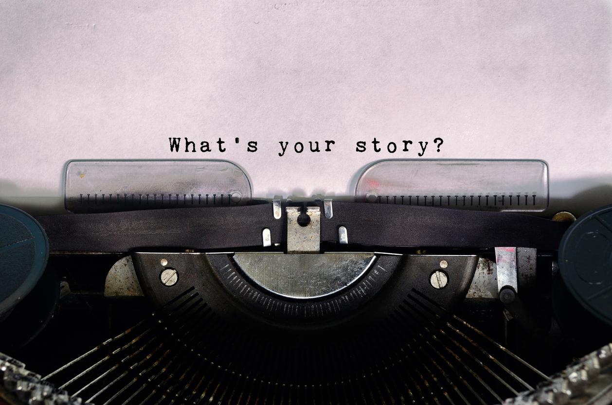 deine Geschichte Schreibmaschine