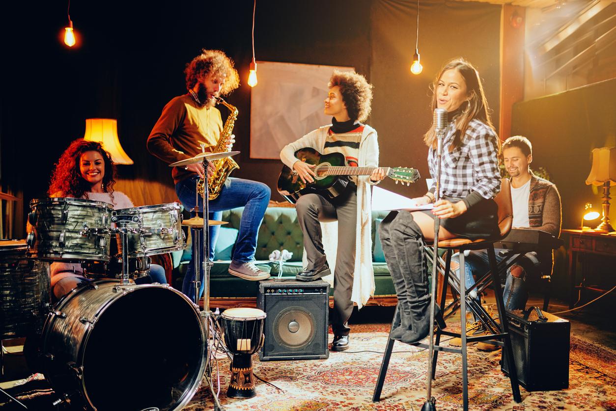 pagina de inicio fotografía de banda